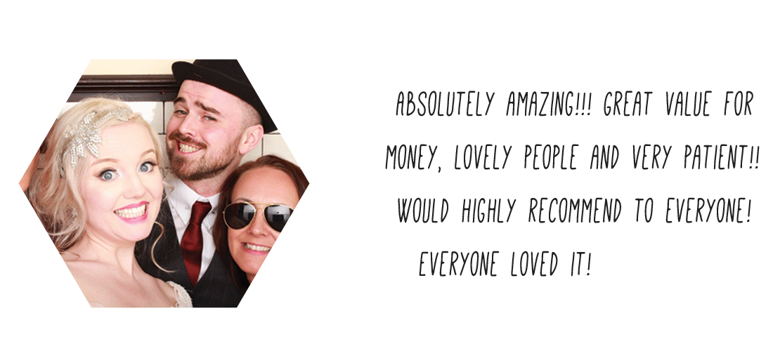 Argyll & Bute Wedding Photo Booth Hire Review Odd Box