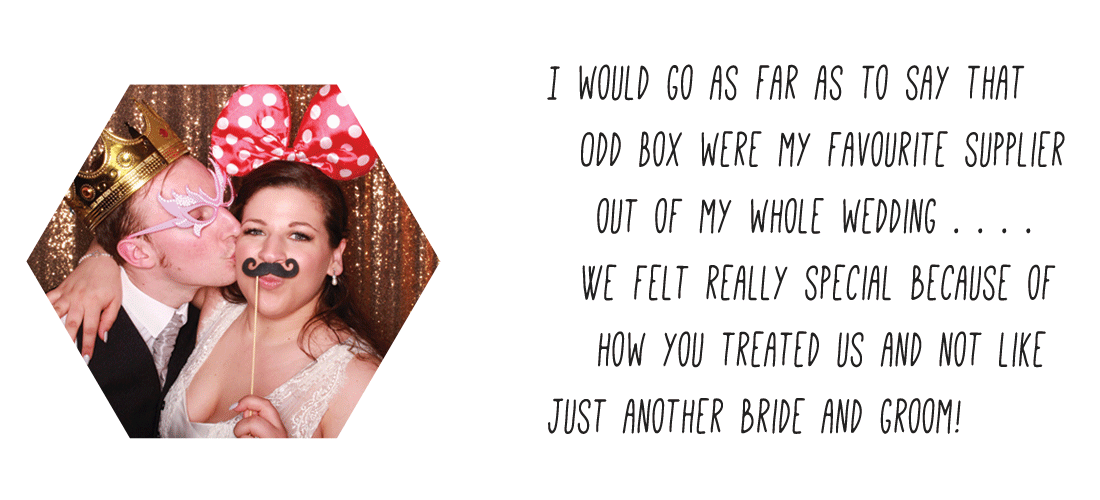 Edinburgh Wedding Photo Booth Hire Review Odd Box