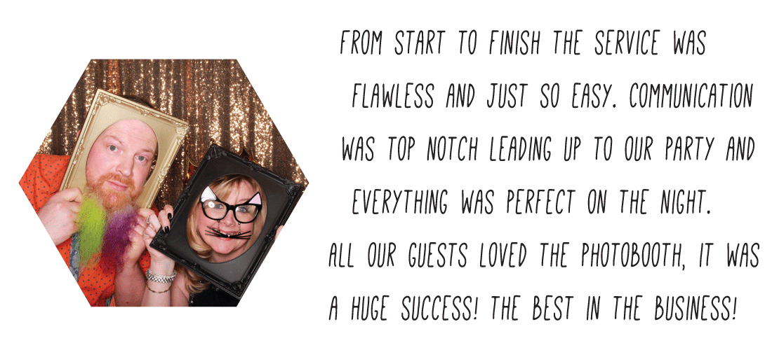 Glasgow Party Photo Booth Hire review of Odd Box Trades Hall