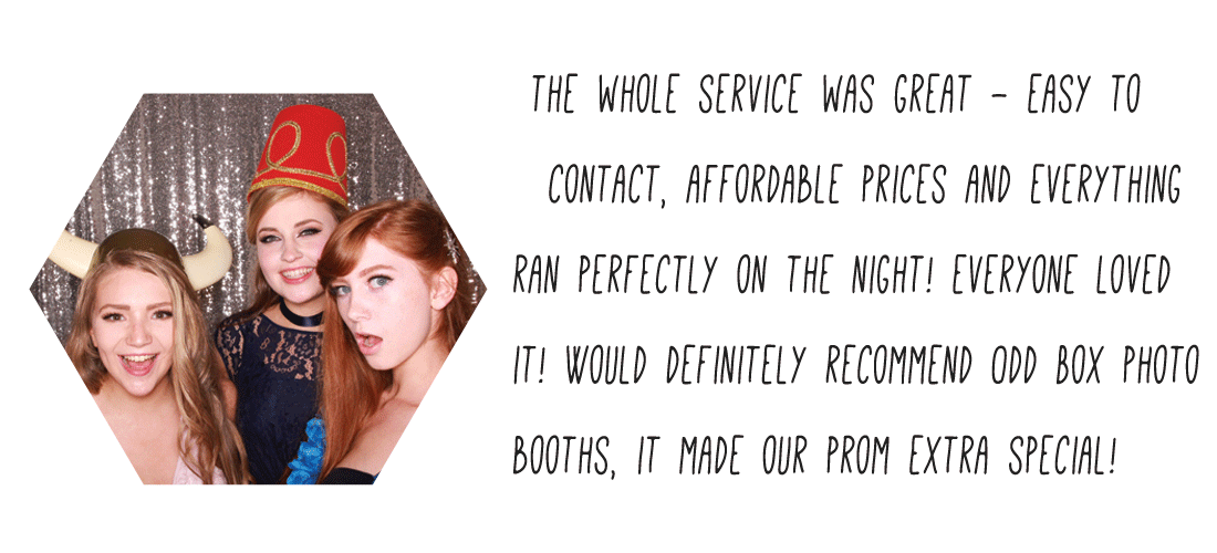 Glasgow Party Photo Booth Hire Review of Odd Box