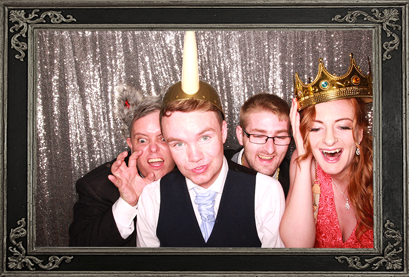 photo booth review of wedding in House for an Art Lover Glasgow Scotland Odd Box