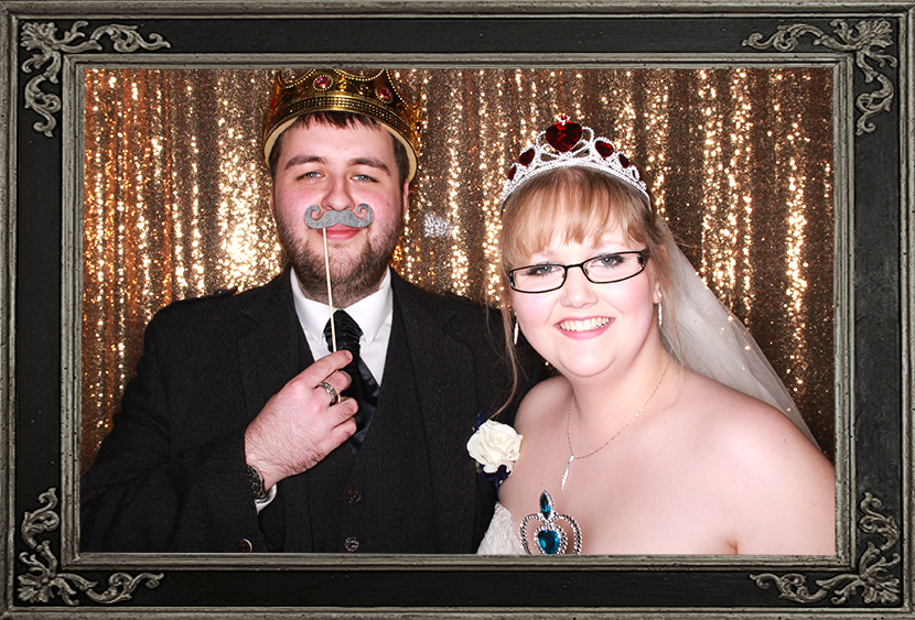 photo booth review of wedding in Alloa Scotland Odd Box