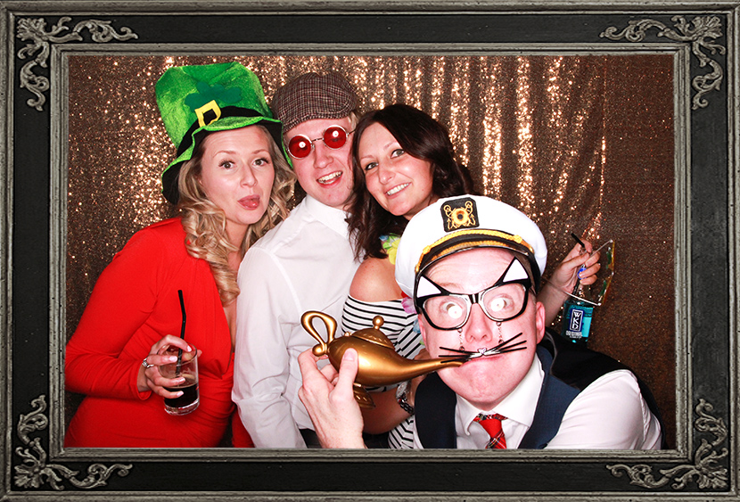 photo booth review of Dunfermline Athletic Corporate event in Dunfermline Scotland Odd Box