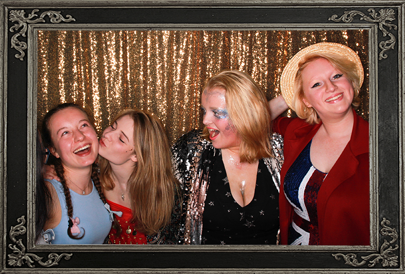 photo booth review of birthday party Scotland Odd Box