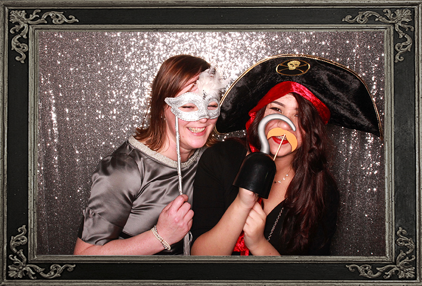 photo booth review of birthday party at Loch lomond Golf Club Odd Box