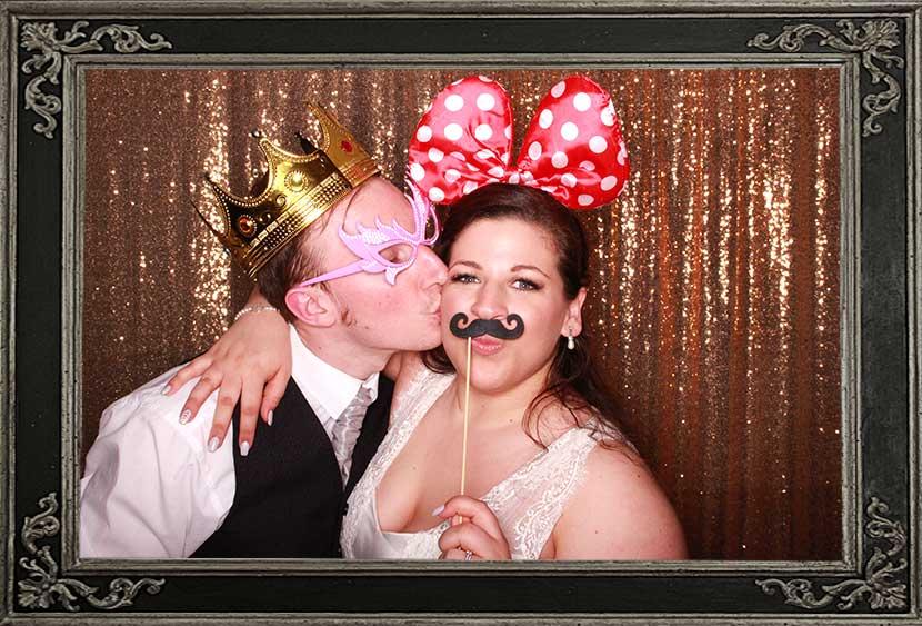 photo booth review of wedding at The Vu Bathgate Scotland Odd Box