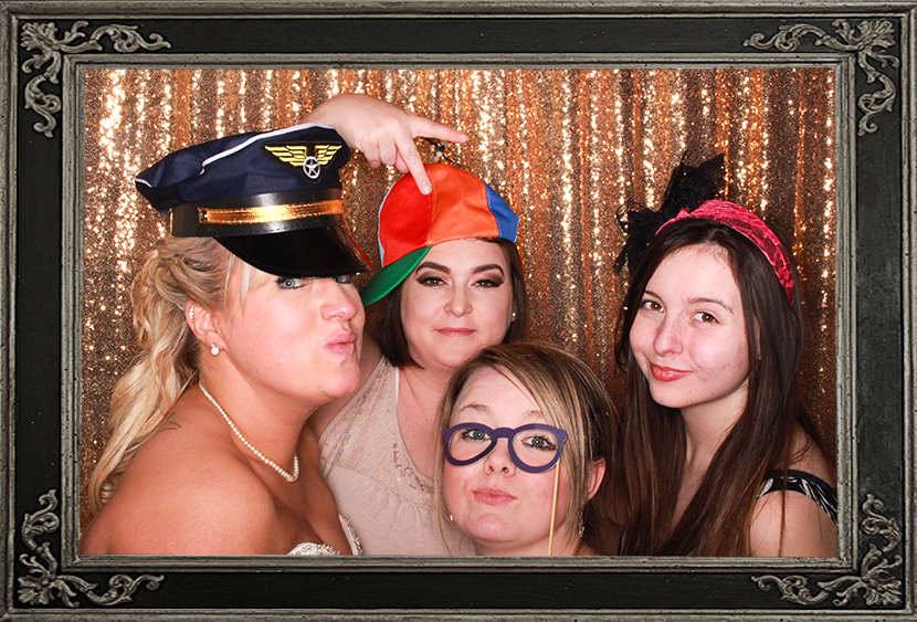 photo booth review of wedding at Ben Nevis Hotel Scotland Odd Box