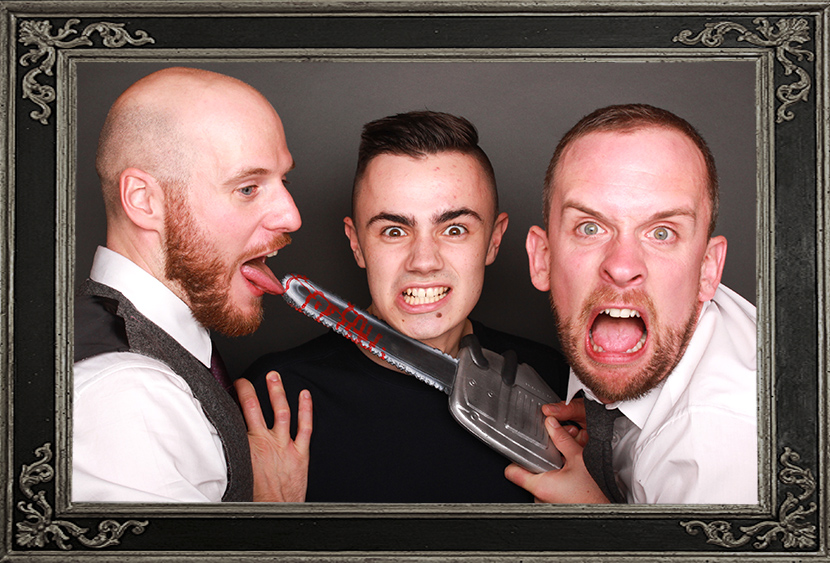 photo booth review of wedding at The Hub in Edinburgh Scotland Odd Box