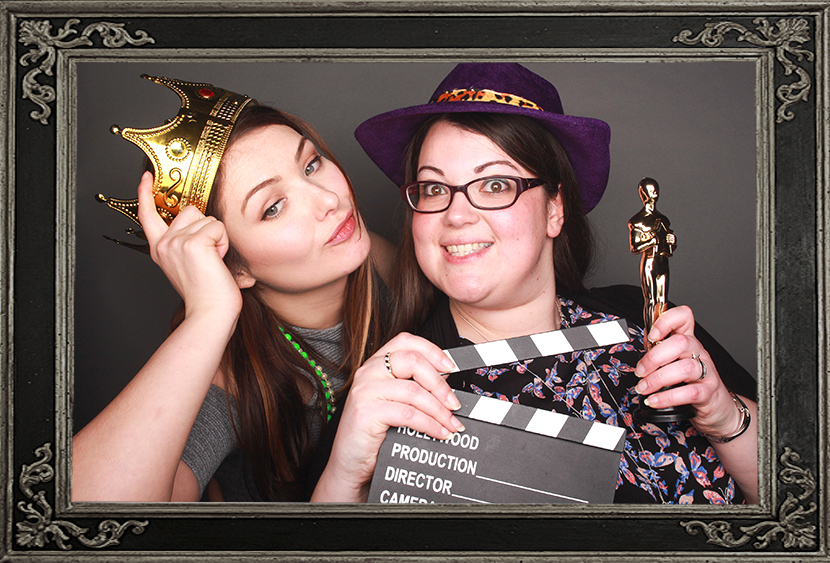 photo booth review of corporate event in Glasgow Odd Box