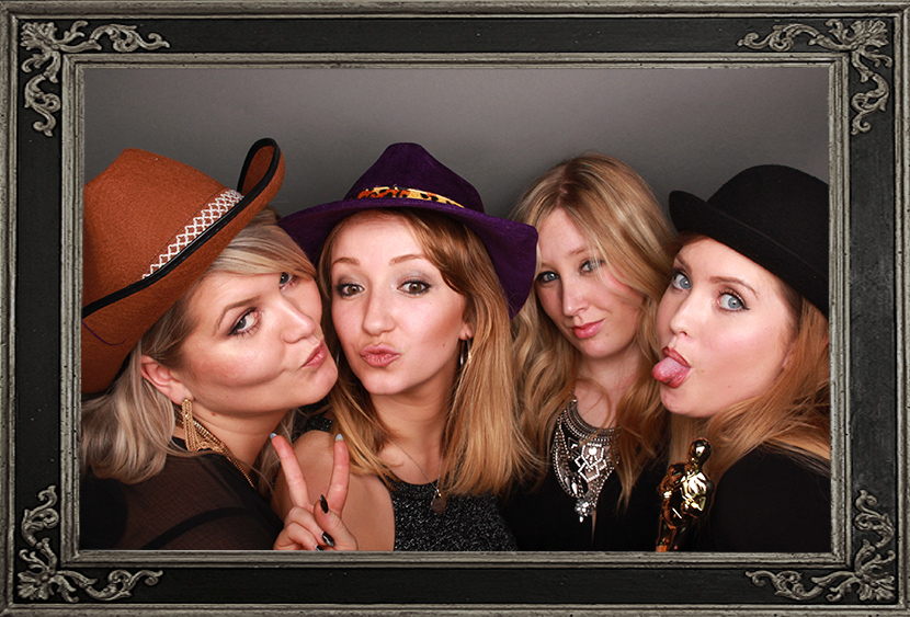 photo booth review of corporate event in Edinburgh Scotland Odd Box