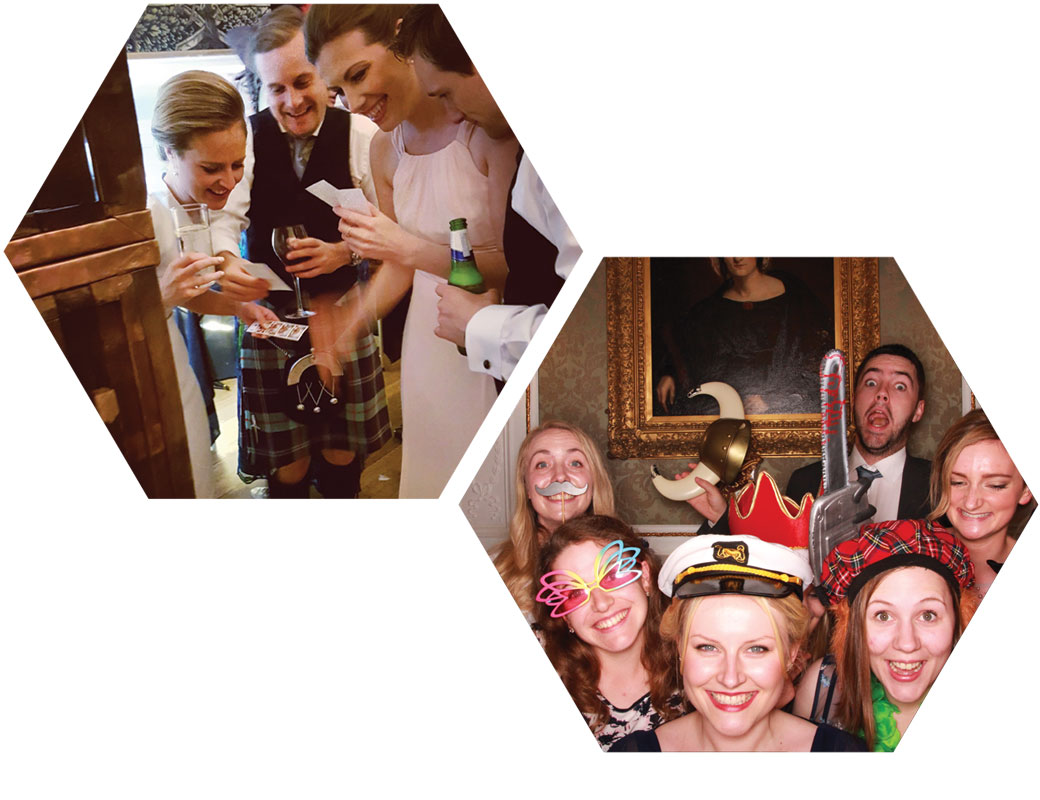 Edinburgh Party Photo Booth Hire Odd Box Hopetoun House