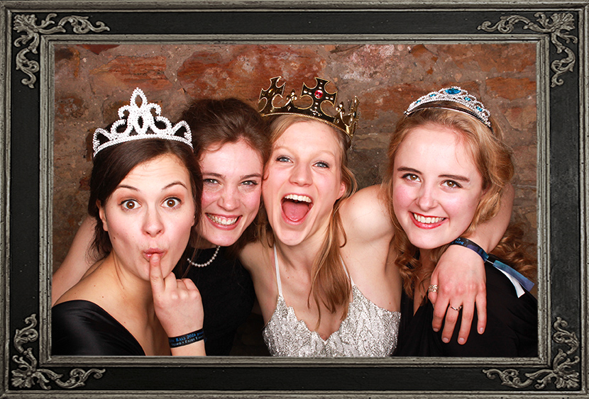 photo booth review of corporate event at Kinkell Byre St Andrews Scotland Odd Box