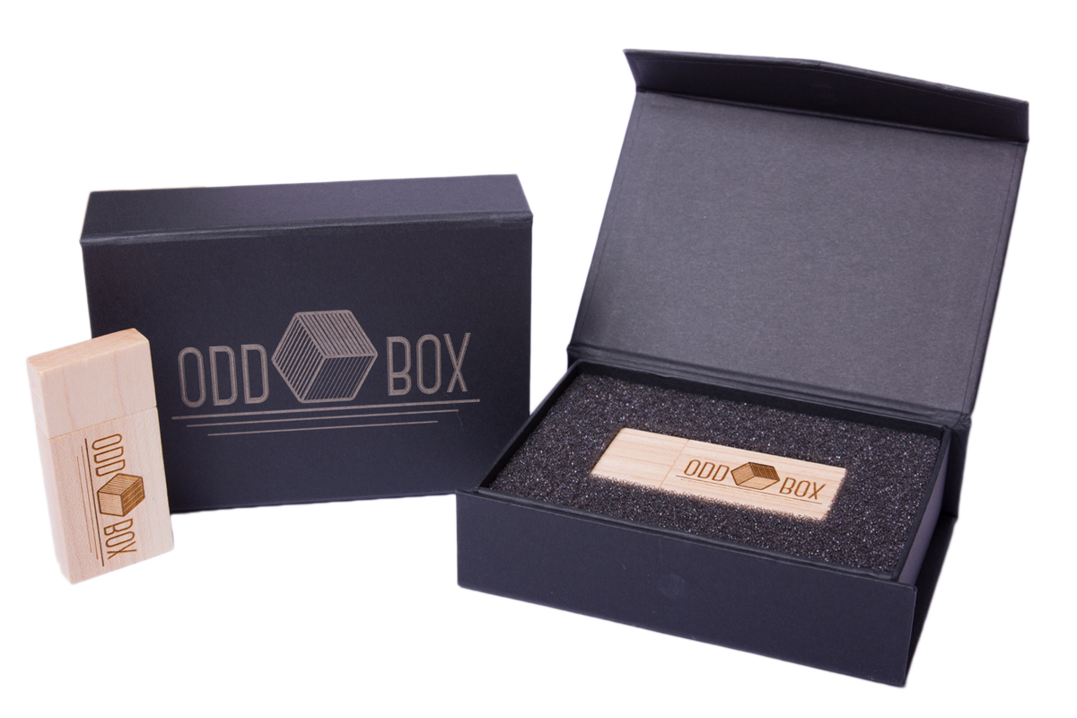 Photo Booth extras wooden USB drive and Video odd box