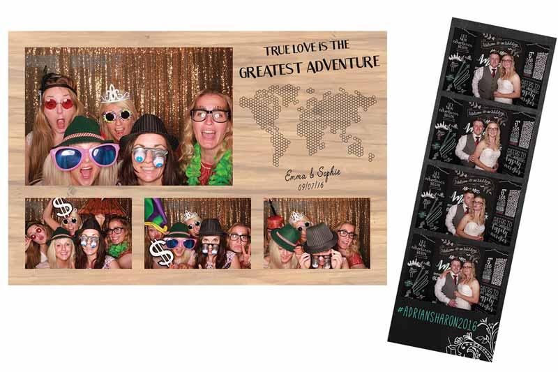 Custom Print Designs Odd Box Photo Booth Extras