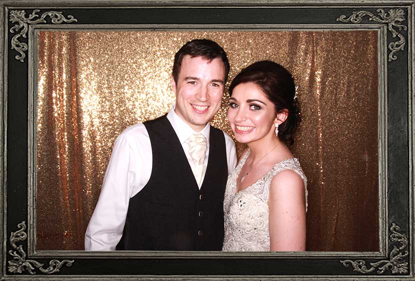 photo booth review of wedding at Old Course Hotel St Andrews Scotland Odd Box