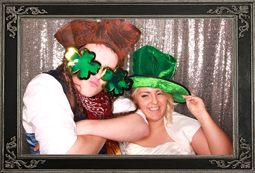 photo booth review of wedding Dunkeld House Hotel Perth Scotland Odd Box