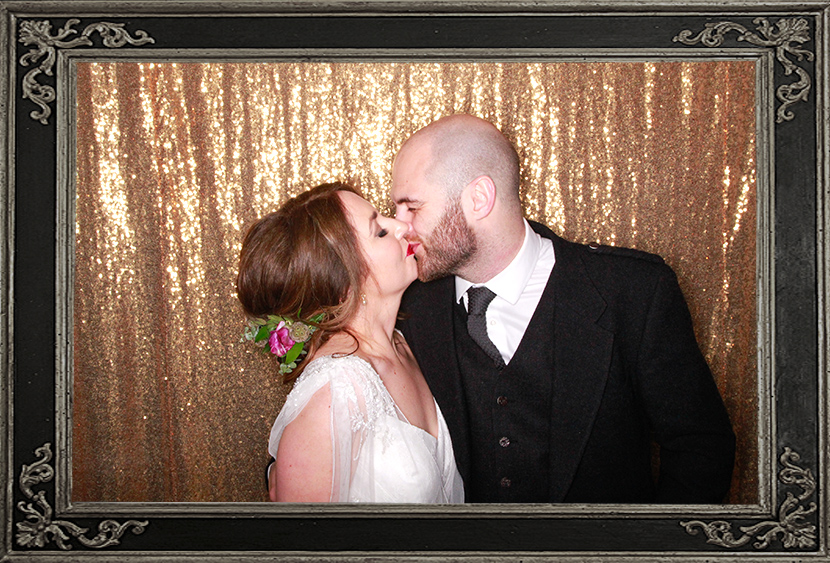 photo booth review wedding at Castle Menzies Aberfeldy Scotland