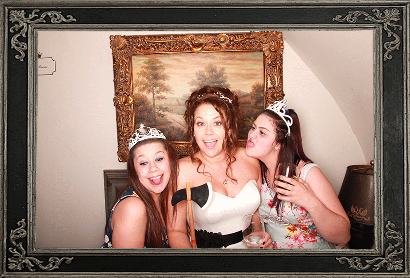 Carberry Tower Edinburgh photo Booth Wedding Review Odd Box