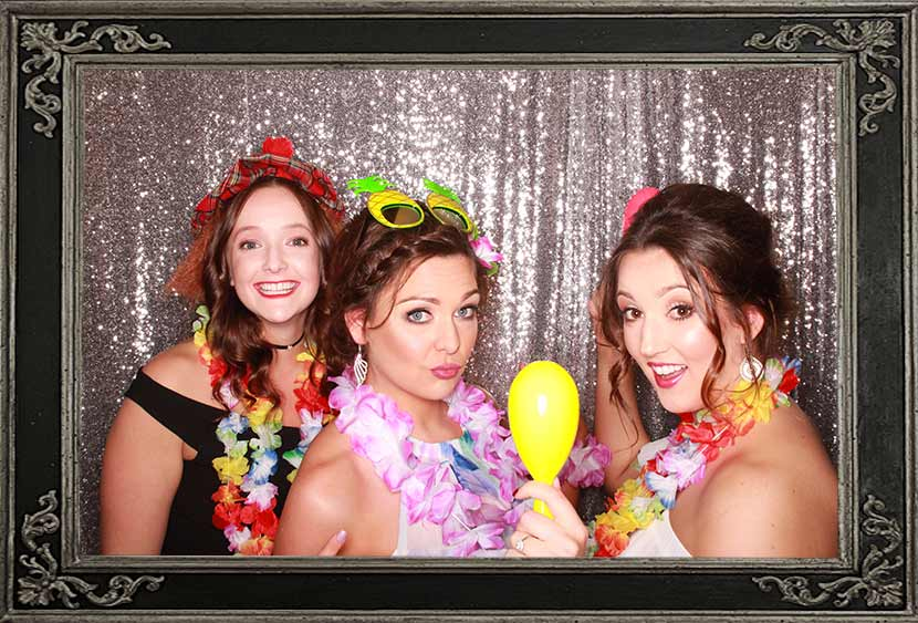Joanna's 30th Birthday Party Stirling Scotland Photo Booth Hire Review Odd Box