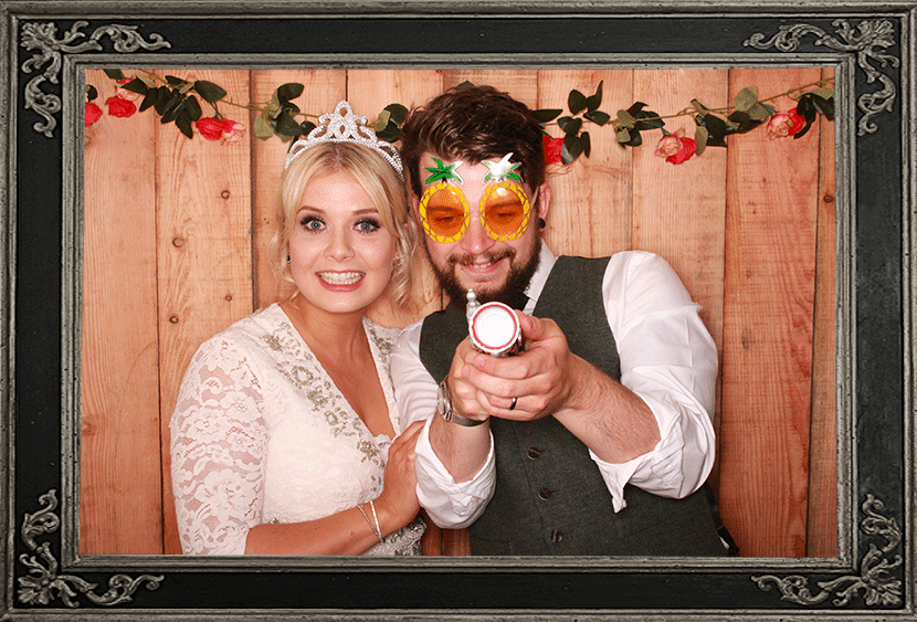 Aberdeen Wedding Photo Booth Review Kirkton of Skene Odd Box Review