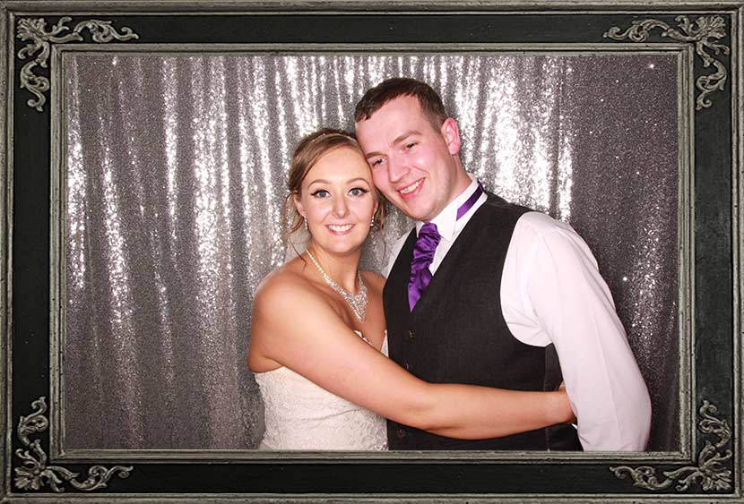 The Parsonage Wedding Photo Booth Review Paul & Lucy Mason Odd Box Stirling Scotland