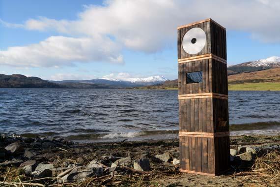Odd Box Whisky Barrel Photo Booth Loch Venachar Stirling Wedding