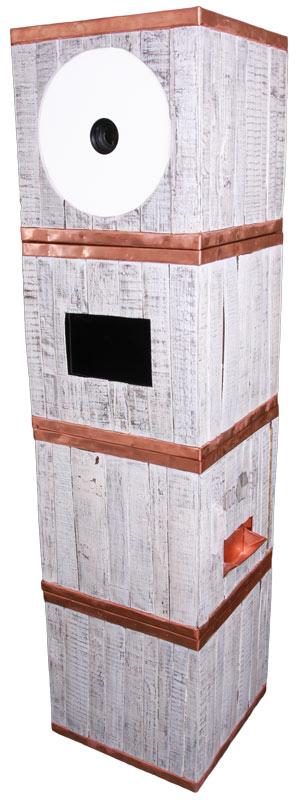 White Wine Booth Odd Box White Photo Booth