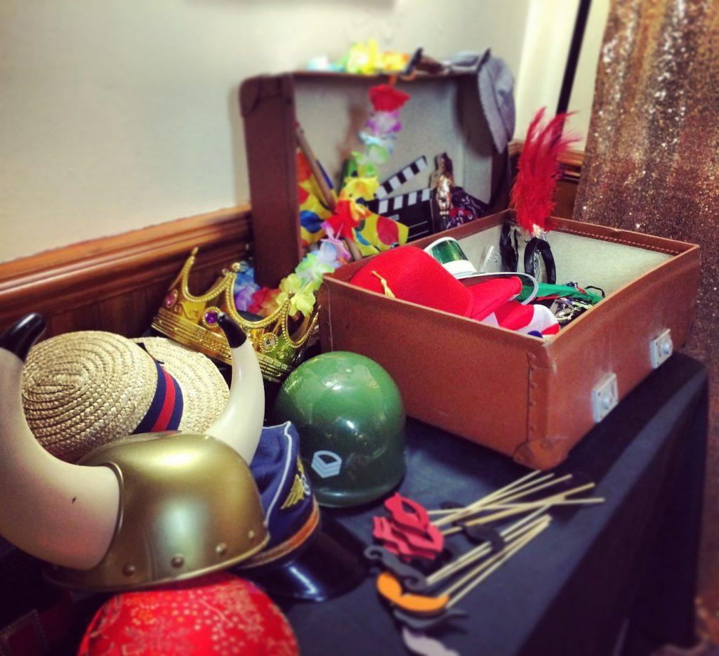 Odd Box Vintage Props Trunk Wedding