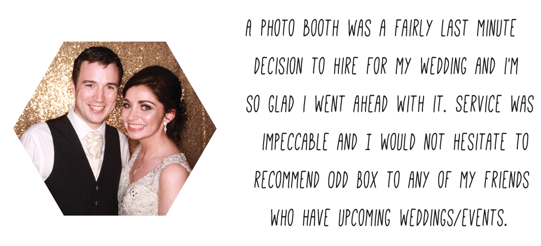 St Andrews Scotland Wedding Photo Booth Hire Review Odd Box