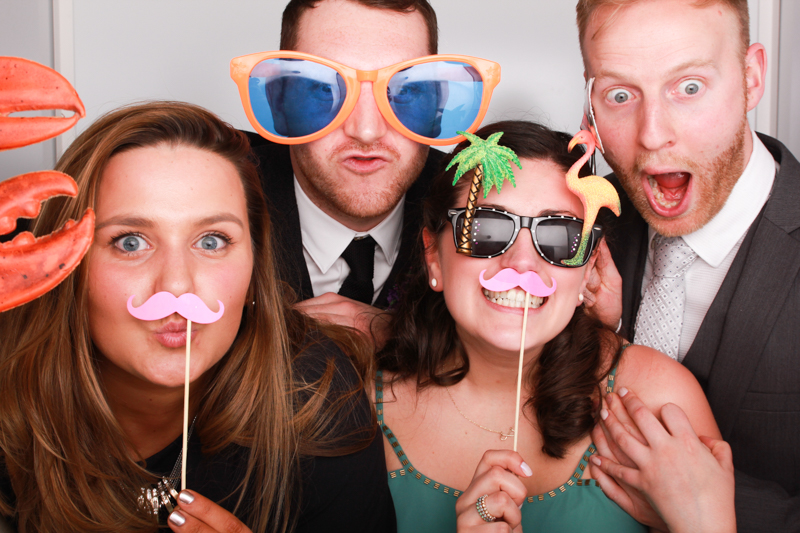 Wedding Photo Booth Scotland Odd Box Fun Props Glasses Dalkeith Edinburgh