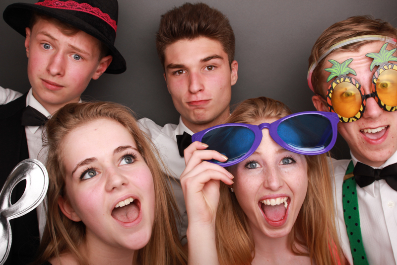 Party Photo Booth Scotland props glasses masks Open Air