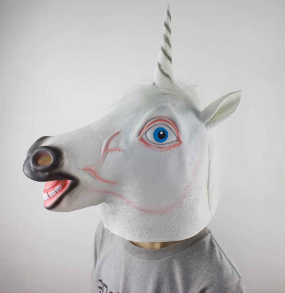 unicorn mask prop photo booth fun