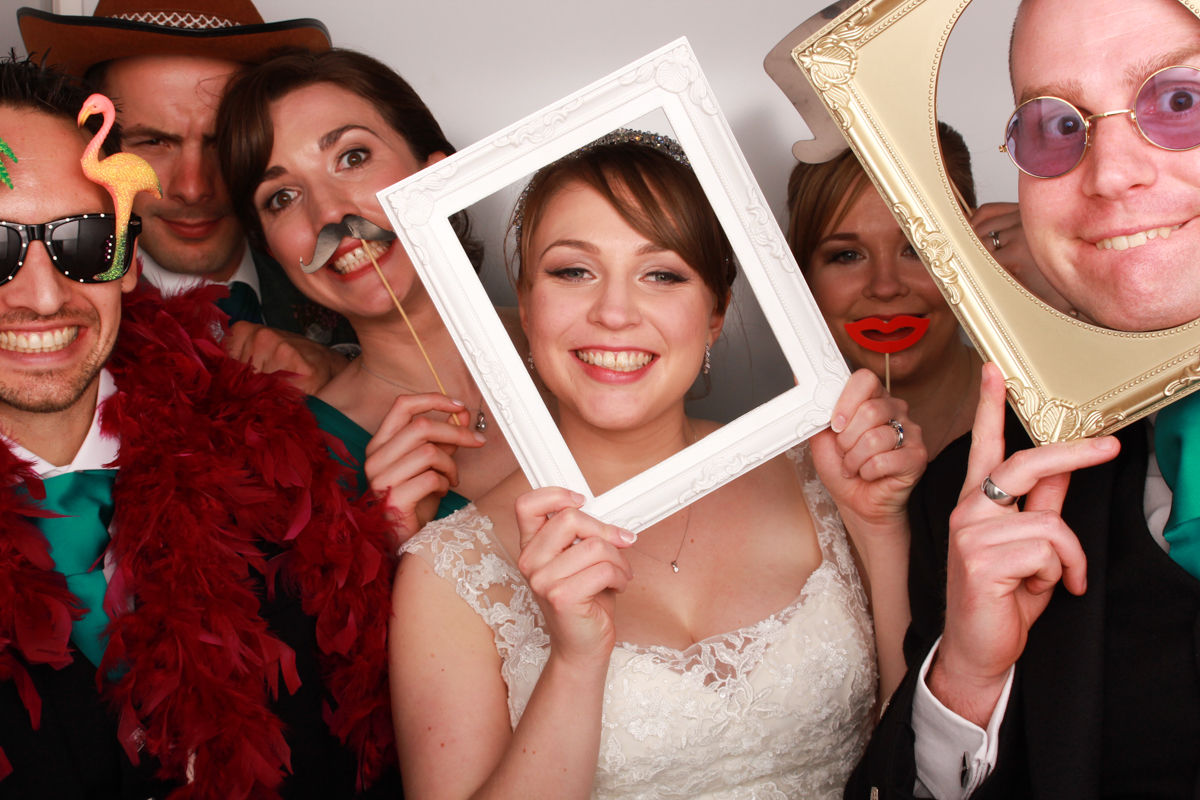 Glasgow Wedding Photo Booth Grand Central Hotel