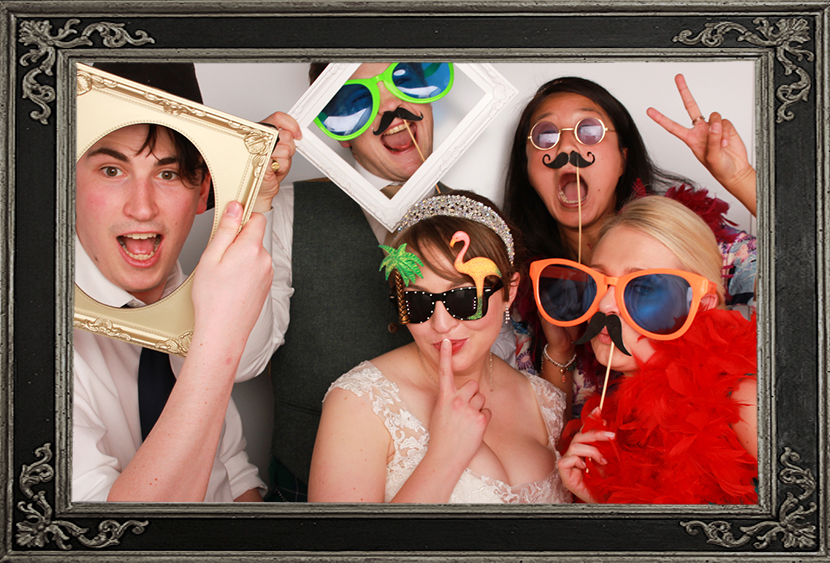 Wedding Photo Booth Fun Glasgow Grand Central Hotel