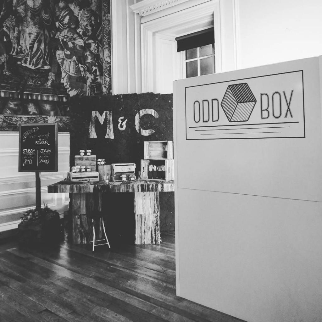 Hopetoun House Wedding photo booth Odd Box Scotland