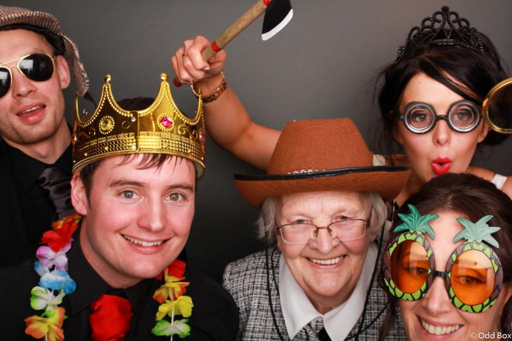 Granny Ranger photo booth hire Scotland