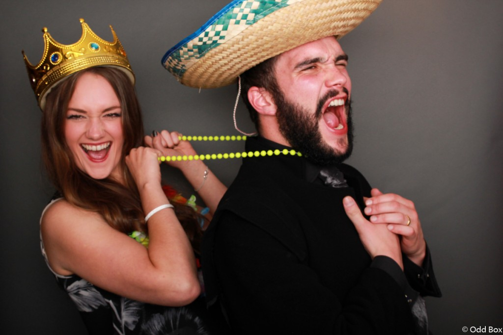 No weapons allowed photo booth wedding Elgin Scotland