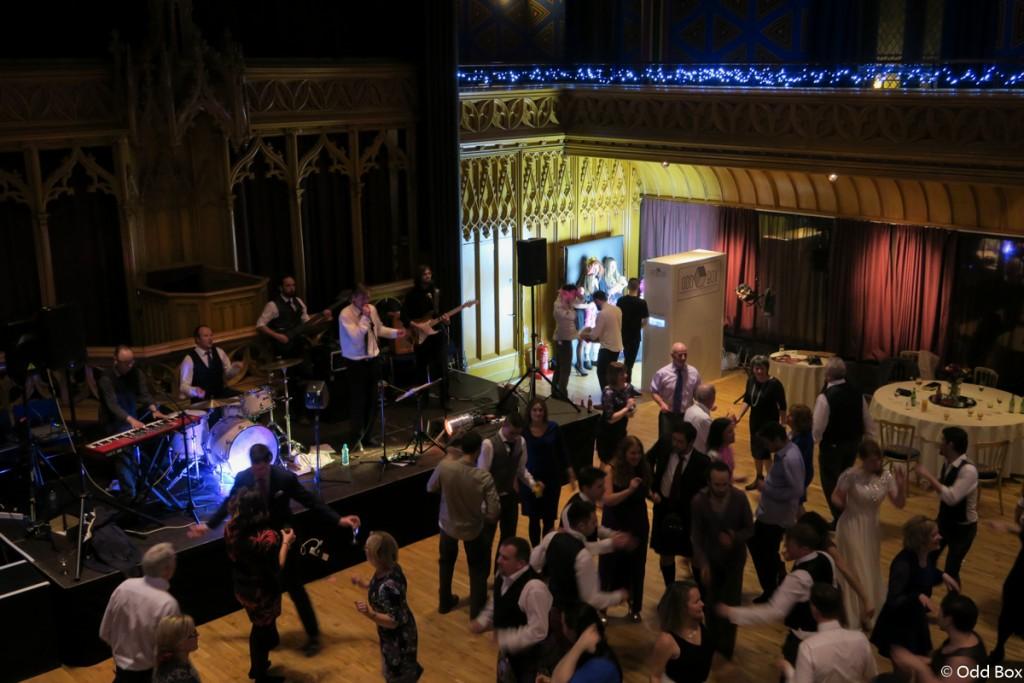 Wedding at the hub Edinburgh Scotland photo booth