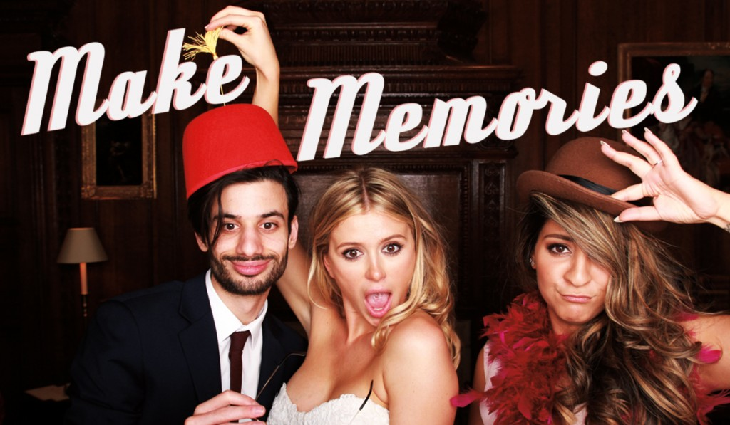 Make Memories with Odd Box photo booth Scotland