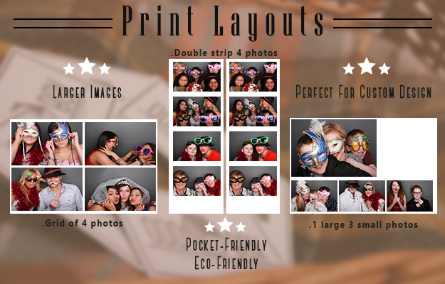 photo booth print layout