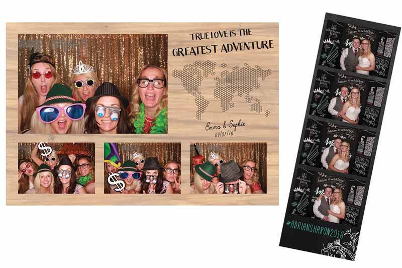 Photo Booth extras custom print design odd box