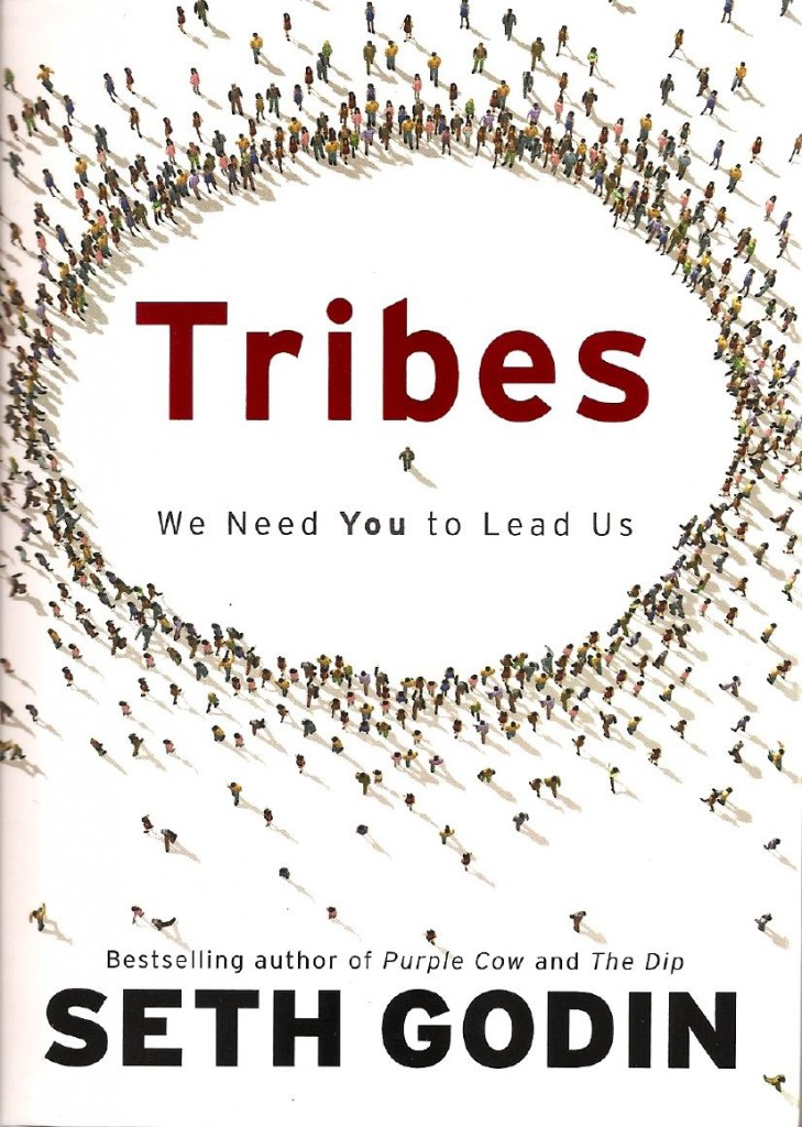 book cover for tribes by seth godin
