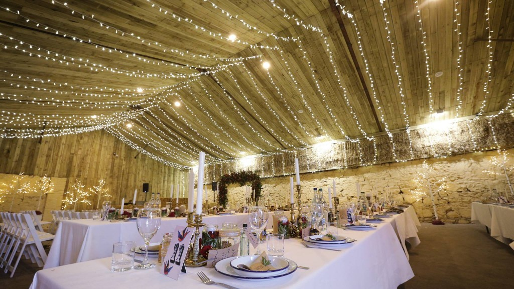 Comrie Croft Wedding Barn