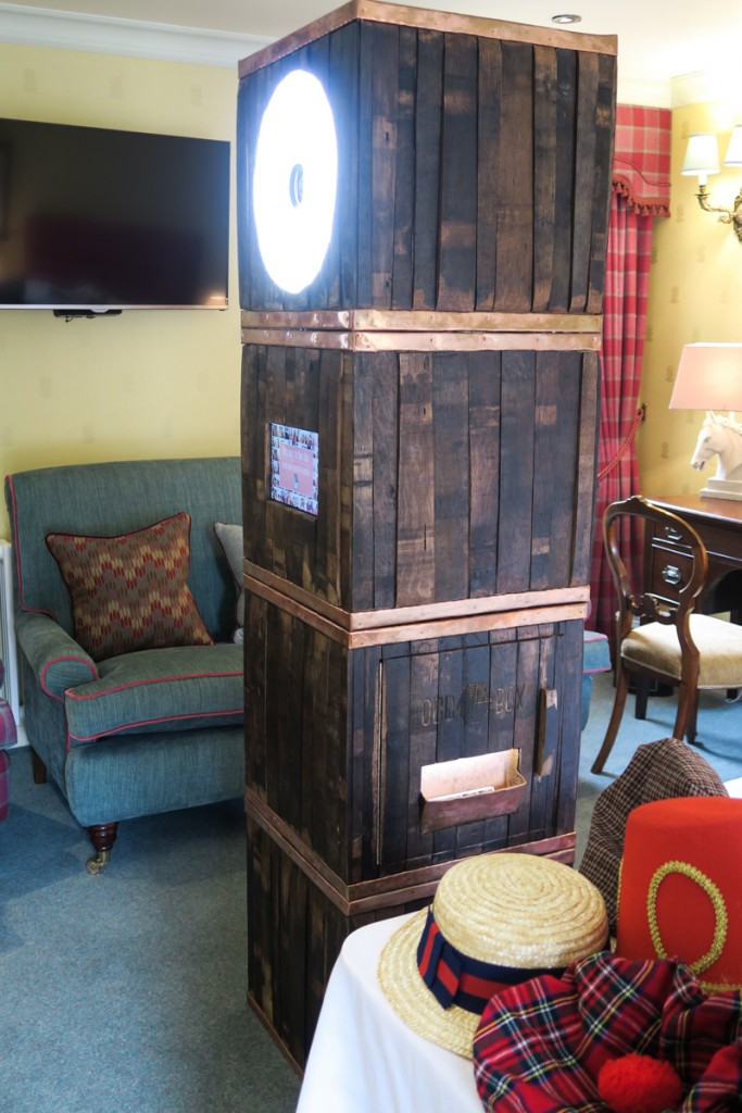Odd Box Whisky Barrel Booth