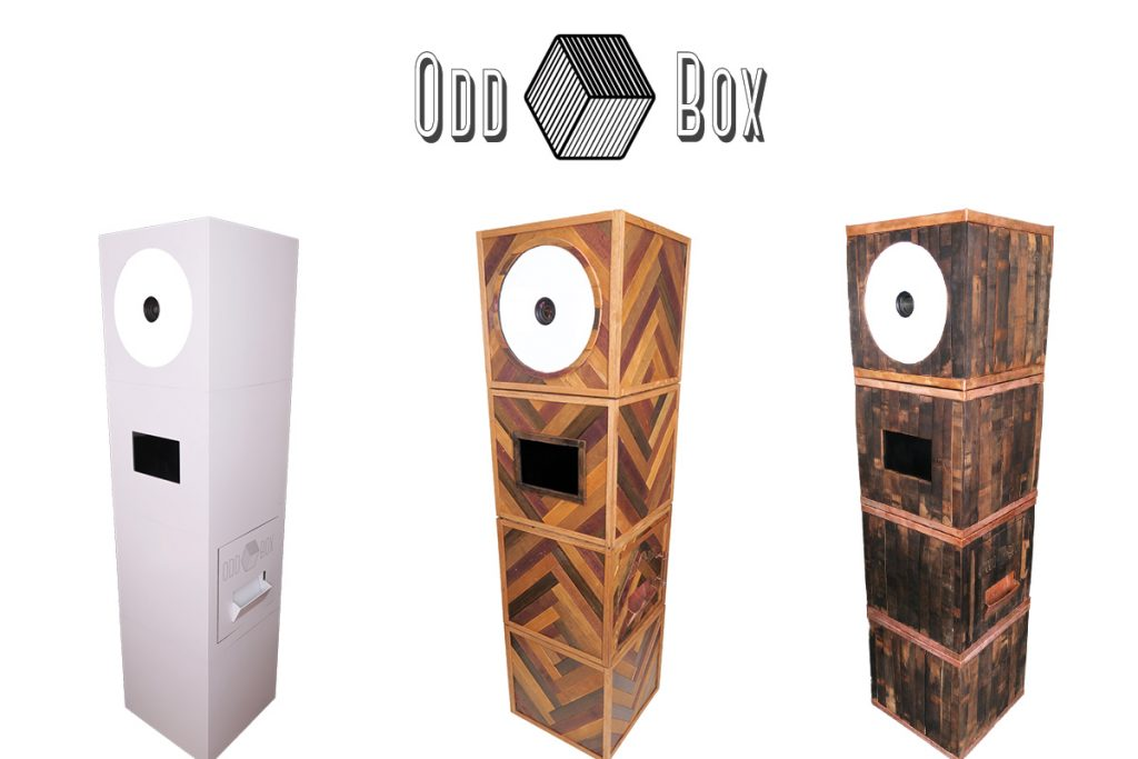 3 Odd Box Photo Booth's