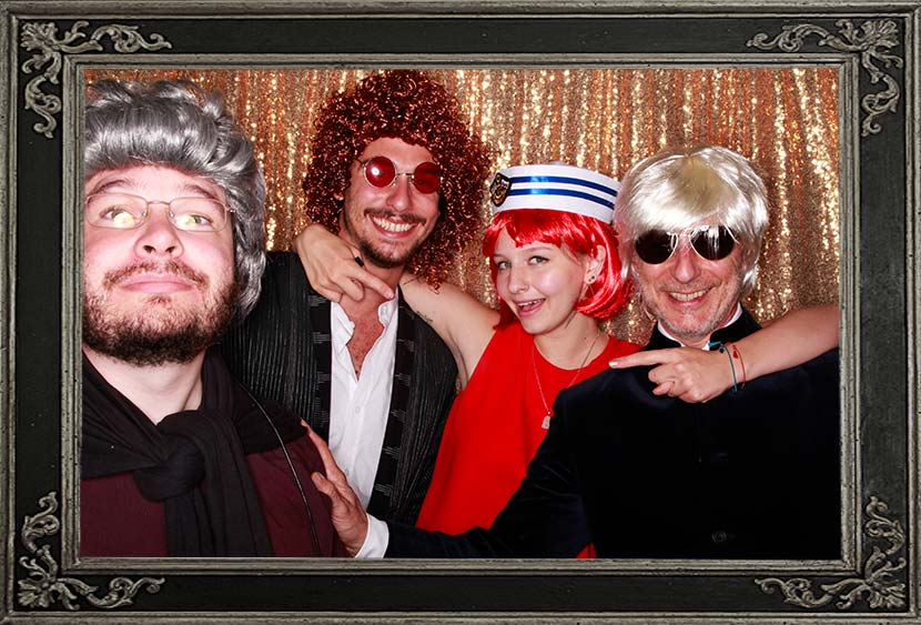 50th Birthday Party Photo Booth Inverness Aberdeen Scotland Odd Box Review