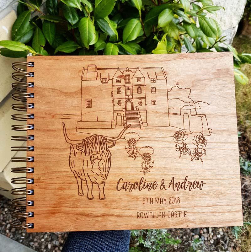 Rowallan Castle Guest Book