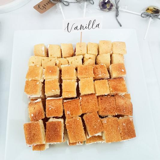 Loren Brand Cakes Vanilla Wedding