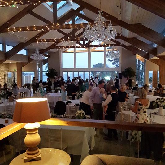 GG's Yard Wedding Reception Dance Floor